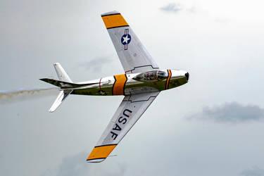 North American F-86F Sabre by arejaye