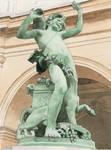 Statue at Fine art museum Lyon by AntoineRozel