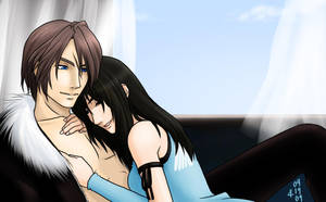 Squall and Rinoa x3 by Arc-Ecclesia