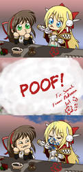 Lab disaster lol by Arc-Ecclesia