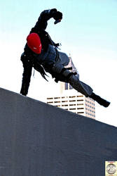 Red Hood Rooftop Chase by TS-Calibrate