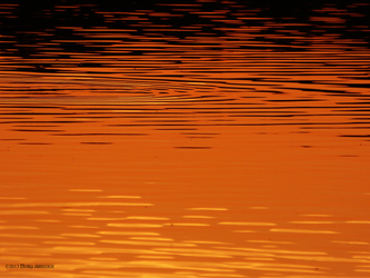 Water at sunset by Mogrianne