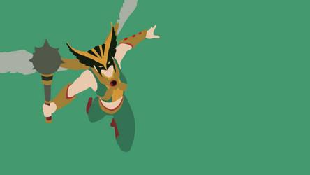 Hawkgirl by Reverendtundra