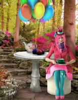 Pinkie Pie's Mad Tea Party by BronyOnABudget