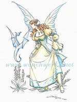 Flower Fairy, 1 of 9 by Wenchworks