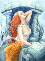 Atlantis Mermaid, take 2 by Wenchworks