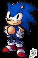 Classic Sonic by IanDimas