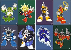 Daily Rockman - Rockman 4 Robot Masters by IanDimas