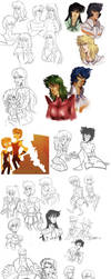 sketchdump 2 by spoonybards
