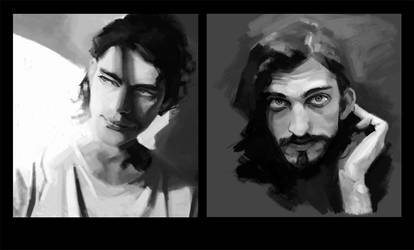 portrait studies by spoonybards