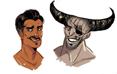 da:i - dorian and bull by spoonybards