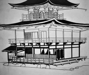 Kinkaku-ji by RorikSavant