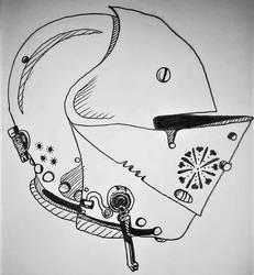 Closed Helm by RorikSavant