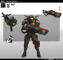 Halo Spartan Jerome by StTheo