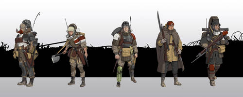 WWI order knights by StTheo