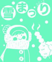 Yuki Matsuri Tshirt Front (submission) by AlexandriaJLee