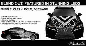 Lexus: BLEND OUT by AlexandriaJLee