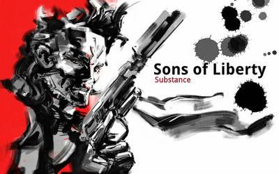 Metal Gear Solid 2 by WINGLESSxANGEL