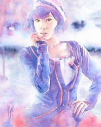 Kim Taeyeon by WINGLESSxANGEL