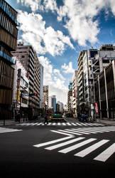 Morning Japan by WINGLESSxANGEL