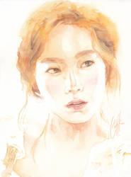 Taeyeon by WINGLESSxANGEL