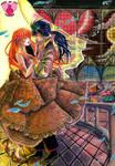 Allegro Attaccato - Hearts of Love Contest by Nekokoro-chan