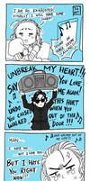Star Wars - Comic Unbreak my Heart by Nekokoro-chan