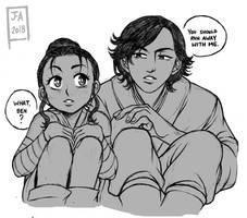 Star Wars: Doodles March Part 1 by Nekokoro-chan
