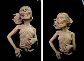 Female zombie FINISHED by asconch