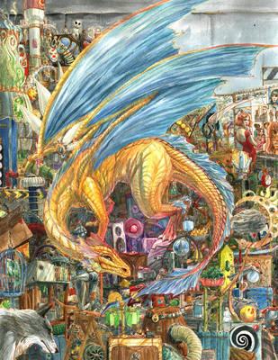 Tinkerbell - Mad Scientist Dragon by skorpi
