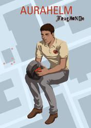 Comic cover aurahelmet by skorpi