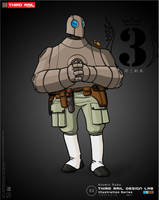 TRDL - Atomic Robo by TRDLcomics