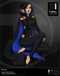 Trdl1617 Raven Teen Titans Redesign by TRDLcomics