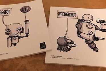 Trdl Wrongrobotcovers by TRDLcomics