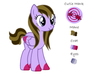 Ponysona Reference Sheet by ReverseBeartrapZ