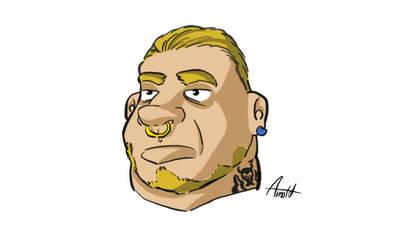 Cartoon Character by Gabor2600