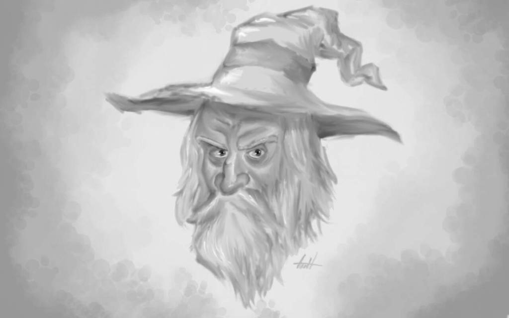 Old Mage by Gabor2600
