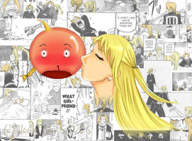 Ed and Winry - XD by kittyferfer
