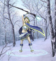 Warcraft III: Crystal Maiden by jtsang