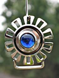 Blue Sun belt buckle by ou8nrtist2