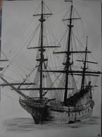 An old ship by RAMMSTEINrulez