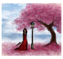 Waiting in Spring by Becso-dimension