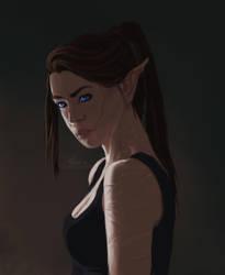 Amirela Sileas by Becso-dimension