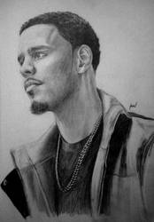 J.Cole by Bainsy91