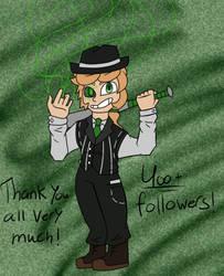 400+ Amino Followers thank you by Konan720