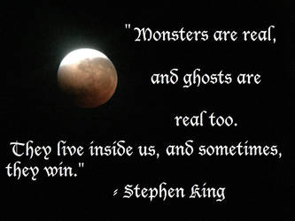 Stephen King Quote by LAWritersLab