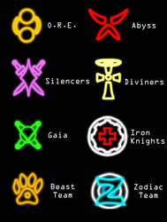 Glowing Crests by Spartan9053