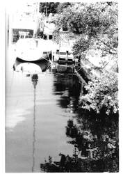 Dockside Reflection by zzjustpeachyzz