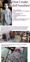 Doll hoodies tutorial Part 1 by KarenBJD
