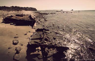 Lancashire Landing wrecks by gokhanproject